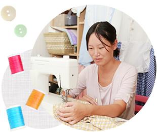 弊社には縫製の技術・知識を持った社員がおります。